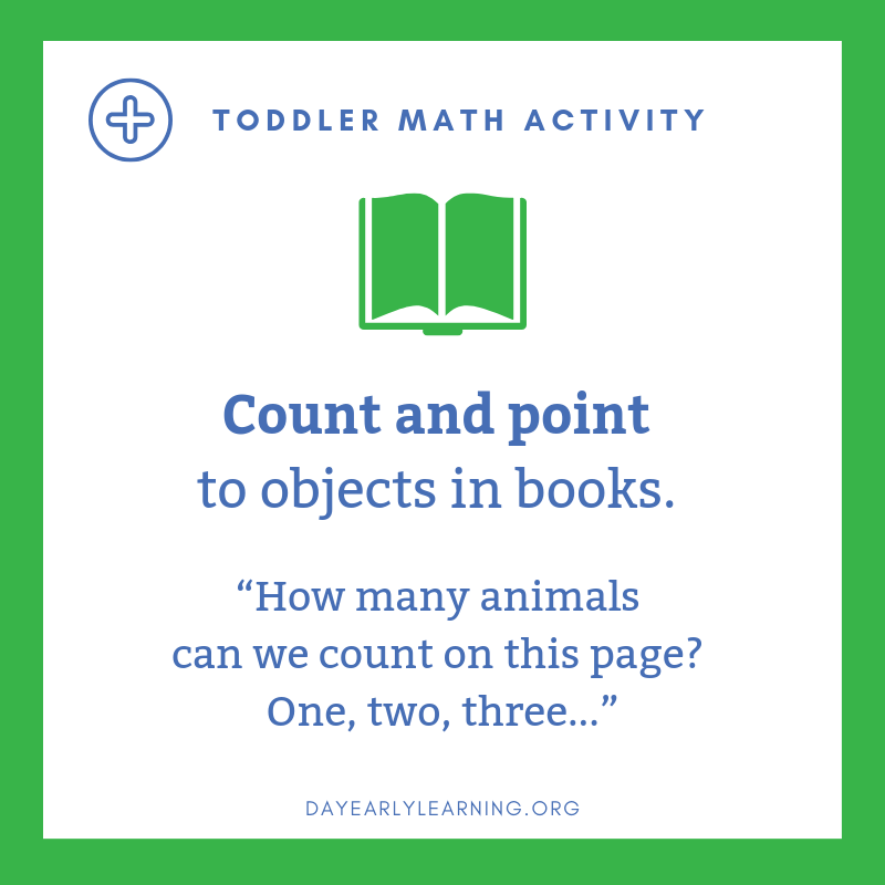 toddler math activity