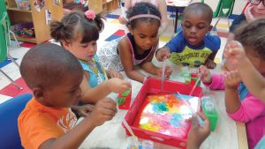 preschool science experiment day early learning