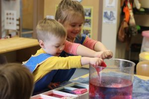 toddler science activity day early learning